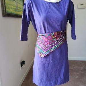 Anna Lane Purple Dress